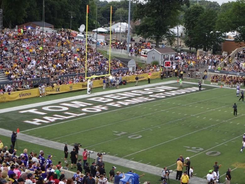Tom-Benson-Hall-of-Fame-Stadium-End-Zone